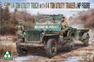 U.S. Army 1/4 Ton Utility Truck