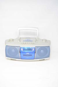 Stereo Jvc Sr-st3 Grigio E Blu Cd E Radio (no MusiCassette)