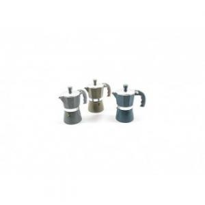 Caffettiera In Alluminio Stone 2 Tazze Colore Nero Caffè Di Qualità In Casa Cucina