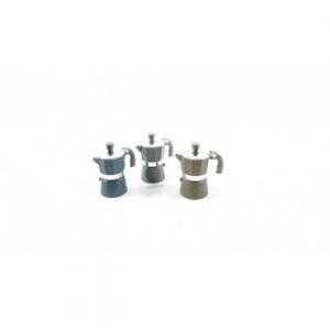 Caffettiera In Alluminio Stone 1 Tazza Colore Nero Caffè Di Qualità In Casa Cucina