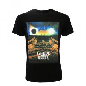 T-shirt Greta Van Fleet taglia XS S M L XL XXL