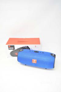 Cassa Bluetooth Modello Medio Colore Blu NUOVA