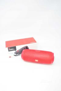 Cassa Bluetooth Modello Medio Colore Rosso NUOVA