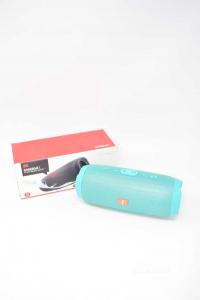 Cassa Bluetooth Modello Medio Colore Verde Acqua NUOVA
