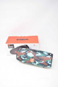 Cassa Bluetooth Modello Big Colore Militare NUOVA