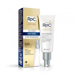 Roc Pro-Correct Fluido Viso Antirughe 40ml