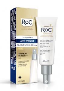 Roc Pro-Correct Crema Viso Antirughe Ricca 40ml