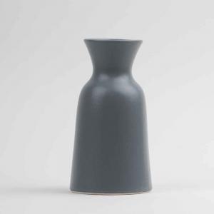 Vaso caraffa 1L in ceramica opaca grigia made in Faenza