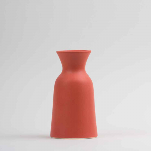 Vaso caraffa 1L in ceramica opaca rosa made in Faenza