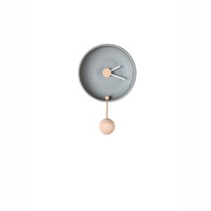 Orologio da muro piccolo grigio Totidè