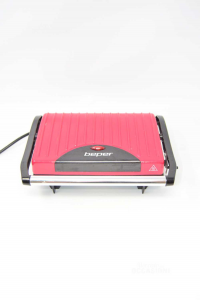 Straightener Per Toast Beper Red 22x12cm