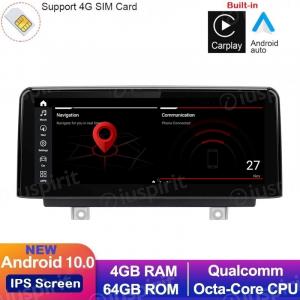 ANDROID 10 navigatore per BMW Serie 1 F20 F21, BMW Serie 2 F23 Sistema originale NBT 10.25 pollici 4GB RAM 64GB ROM CarPlay Android Auto WI-FI GPS 4G LTE Bluetooth MirrorLink
