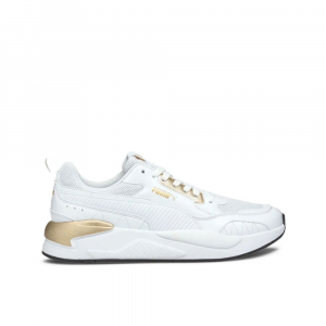 Puma X-Ray Square Metallic Bianca Oro da Donna