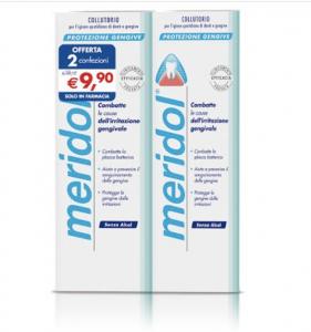 Meridol Collutorio Protezione Gengive 2x400ml