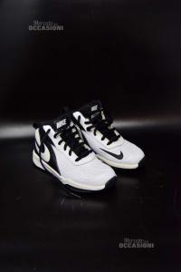 Scarpe Bambino Nike N. 30 Bianche Nere