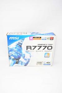 Scheda Video Msi 7770 Ghz Edition + Cavo, Manuale, Driver Video, Funzionante