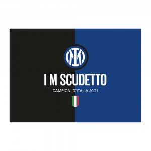 Bandiera Inter cm 100 x 140 I m scudetto