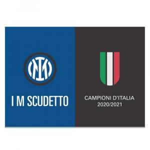 Bandiera Inter cm 140 x 200 I m scudetto