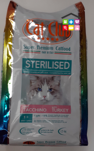 Cat club sterilised TACCHINO1,5kg