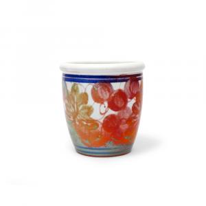 Bicchiere in ceramica di Faenza classic