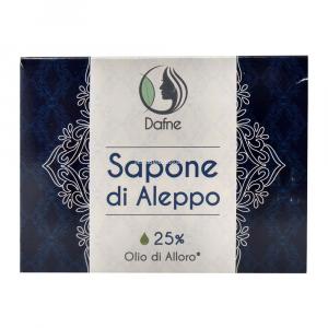 Sapone di aleppo 25% olio di alloro Dafne
