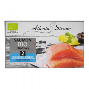 Filetti di salmone irlandese surgelati Atlantic stream