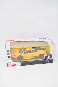 Modellino Lamborghini Gialla Mondo Motors In Scala 1/24