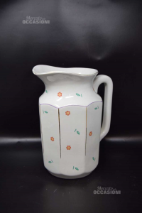 Brocca In Ceramica Richard Ginori Altezza 27 Cm