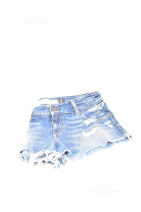 Shorts Donna Jeans Abercrombie & Fitch W 27 Tg 4