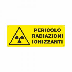 Cartello Pericolo radiazioni ionizzanti