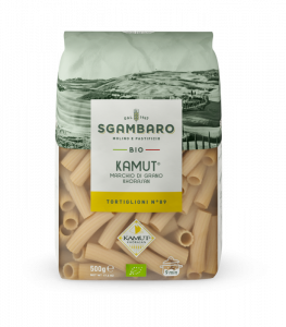 SGAMABARO Pasta Bio Kamut Tortiglioni N°89 GR.500