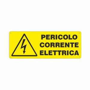 Cartello Pericolo corrente elettrica