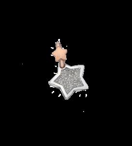 Charm Dodo Mariani Stella Polvere di Brillanti