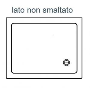 PIATTO DOCCIA RETTANGOLARE ALTHEA ITO                                  cm 72 x 90 H. 5.5