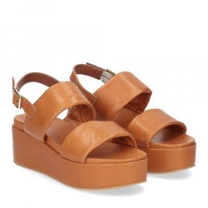 Il Laccio sandalo GL9 pelle cuoio
