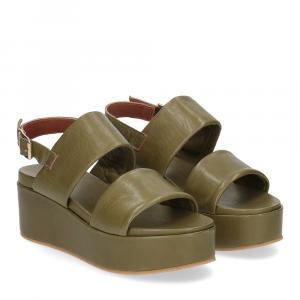 Il Laccio sandalo GL9 pelle verde