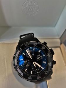 Orologio secondo polso IWC Aquatimer Chronograph Galapagos