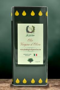 Olio vergine d'oliva 100% ITALIANO latta da 5 litri