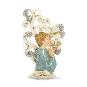 Albero della Vita con Calice e Bimbo 12 cm - Bomboniera comunione bimbo
