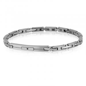 Goyatè - Bracciale Essential Larson acciaio silver