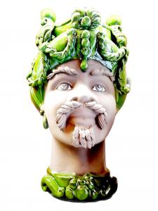 Testa di Moro con Turbenate Verde Speranza