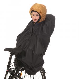 Poncho impermeabile per seggiolino bici posteriore