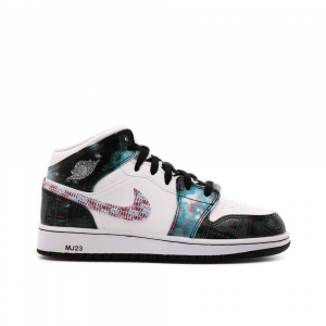 Jordan Air 1 Mid Take Flight Unisex