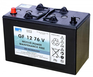 GF 12 76 V BATTERIA AL GEL Sonnenschein - 12V 76 Ah
