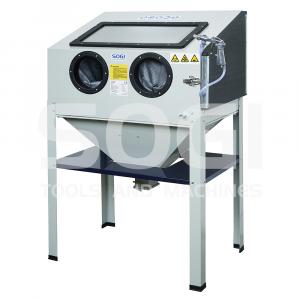 Sabbiatrice professionale SOGI S-85 - cabina di sabbiatura - pallinatrice
