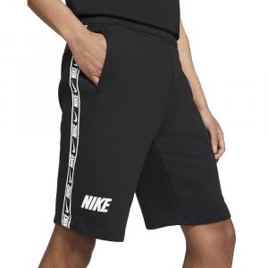 Nike Bermuda Sportivo con Banda Nero da Uomo