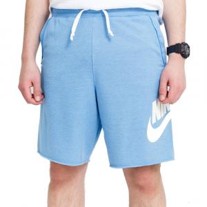 Nike Bermuda Sportivo Basic Blu Cielo da Uomo