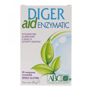 Diger aid Enzymatic 20 Compresse Orosolubili