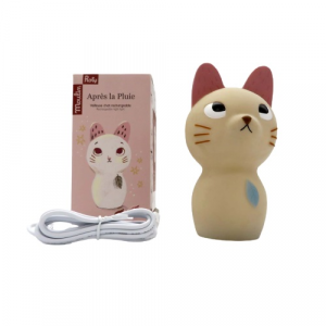 Moulin Roty luce notturna ricaricabile Gatto