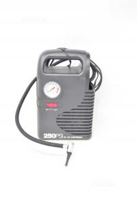 Compressore 250PSI 12V Nero Solo Per Auto